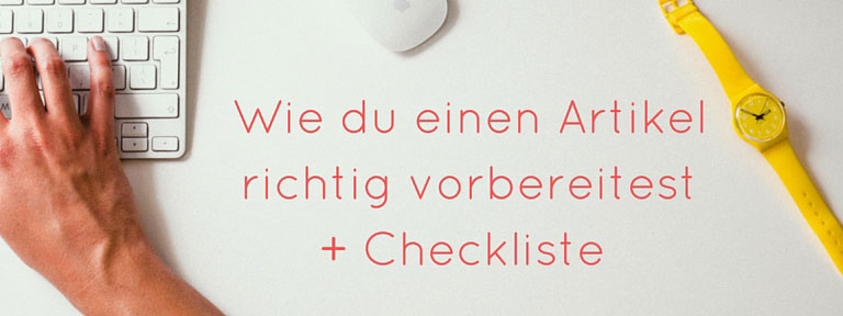 + Checkliste