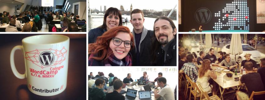 mehrere Bilder aus der WordPress Community