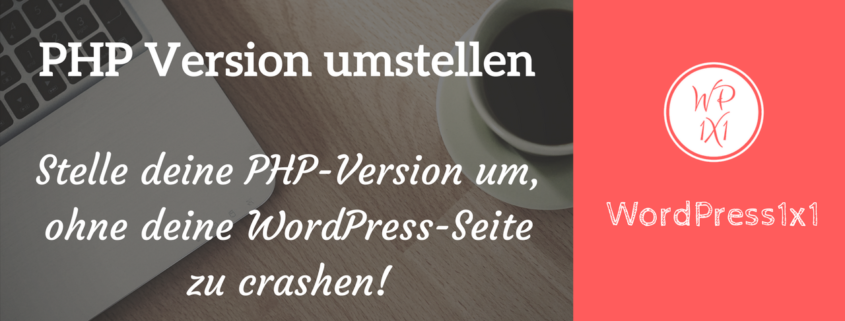 PHP in WordPress updaten